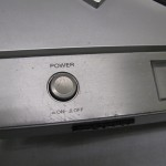 Sony PS-T25 power button