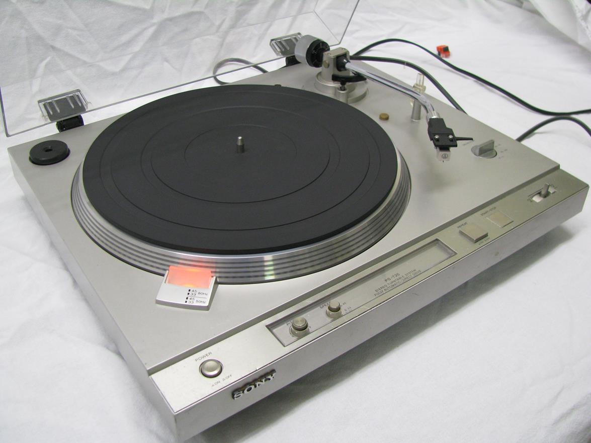 Sony Ps T25 Turntable Vintage Tycoon