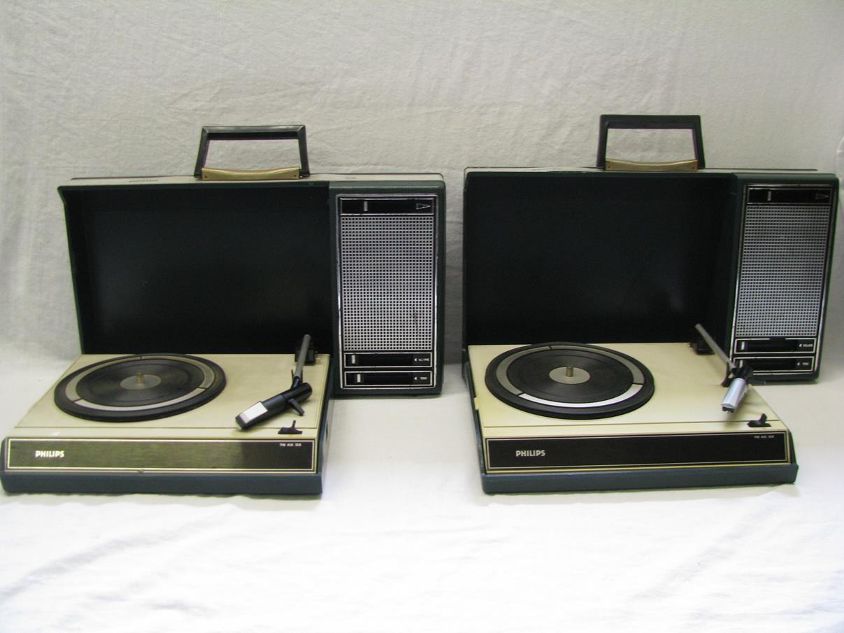 Philips 22gf403 Suitcase Record Player Vintage Tycoon