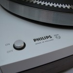 Philips 212 Power button and Philips logo